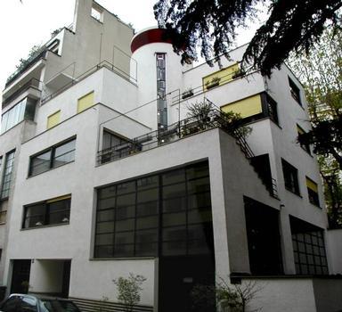 Immeuble de la rue Mallet-Stevens, Paris, par Robert Mallet-Stevens