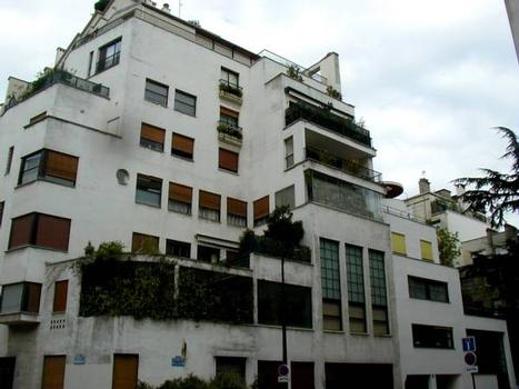 Immeubles de la rue Mallet-Stevens, Paris, par Robert Mallet-Stevens