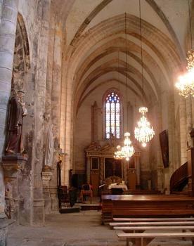 Abbaye de Marcilhac-sur-Célé Transept de l'abbatiale gothique