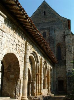 Abbaye de Marcilhac-sur-Célé.Salle capitulaire