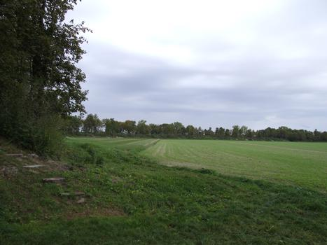 La Cheppe - Camp d'Attila (oppidum des Catalauni) - Vue de l'intérieur de l'oppidum