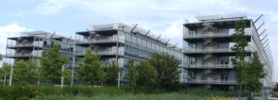 Ecole Nationale des Ponts et Chaussées - Trois corps de bâtiment