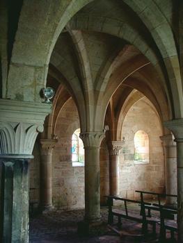 Vertus - Eglise Saint-Martin - Crypte