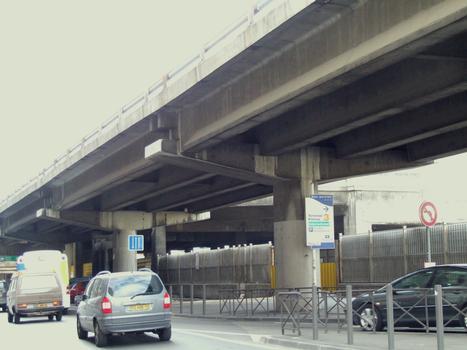 Marseille - A55 - Viaduc de la Joliette