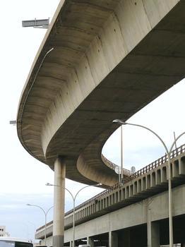 Autoroute A 55 – Viaduc d'Arenc