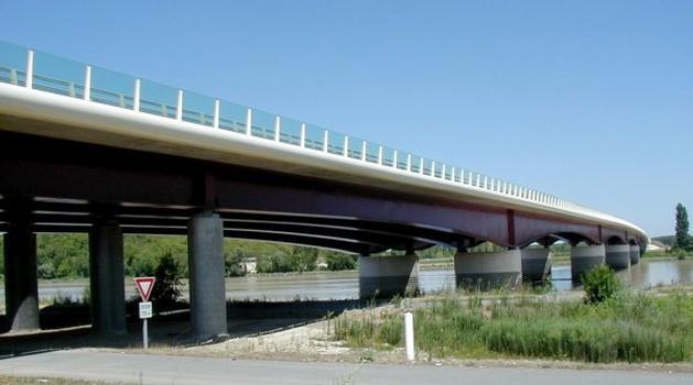 Pont du Mascaret über die Dordogne