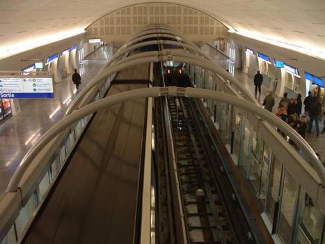 Ligne 14 du Métro de Paris (Météor)Station Saint-Lazare