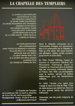 Metz - Chapelle des Templiers