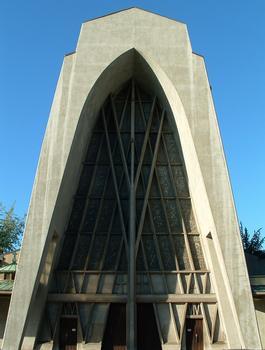 Eglise Sainte-Thérèse-de-l'Enfant-Jésus, MetzFaçade Est