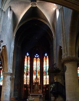 Eglise Saint-Eucaire, Metz.Nef