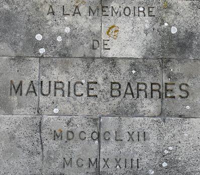 Signal de Vaudémont - Monument Barrès