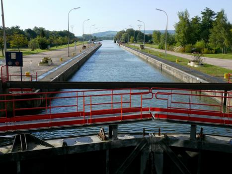 Pagny-sur-Moselle - Schleuse