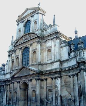 Pont-à-Mousson - Abbaye des Prémontrés - Eglise abbatiale - Façade