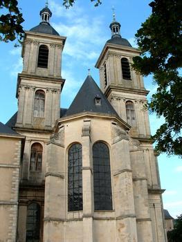 Pont-à-Mousson - Abbaye des Prémontrés - Eglise abbatiale - Abside