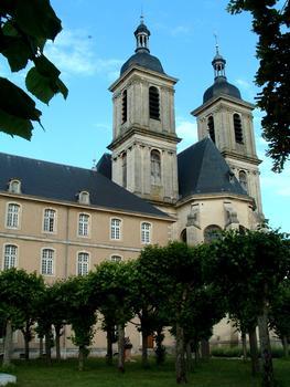 Pont-à-Mousson - Abbaye des Prémontrés - Eglise abbatiale - Abbaye du côté de la Moselle