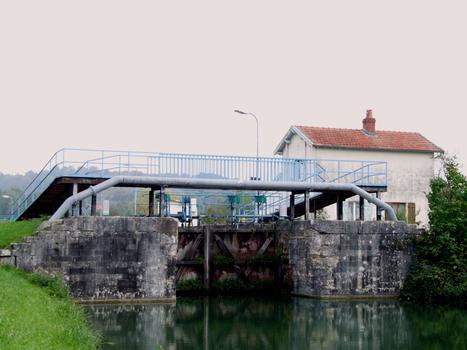 Marne-Rhein-Kanal - Schleuse Nr. 40 in Bar-le-Duc