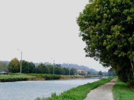 Marne-Rhein-Kanal in Bar-le-Duc
