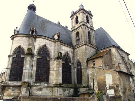 Saint-Mihiel - Abbatiale Saint-Michel - Choeur, transept et tour Nord