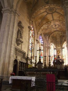 Saint-Mihiel - Abbatiale Saint-Michel - Maître autel et choeur des moines