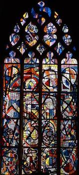 Eglise Notre-Dame-d'Espérance, MézièresVitrail de la Résurrection