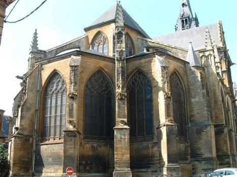 Eglise Notre-Dame-d'Espérance, MézièresChevet