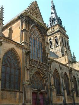 Eglise Notre-Dame-d'Espérance, MézièresPortail du bras Nord du transept : Eglise Notre-Dame-d'Espérance, Mézières Portail du bras Nord du transept
