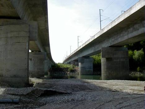 Miribel-Jonage Viaducts