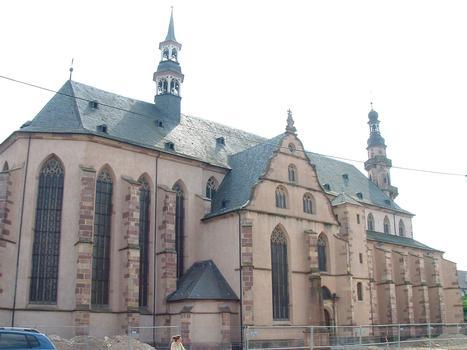 Molsheim - Eglise Saint-Geoges et de la Trinité (ancienne église des Jésuites) - Façade côté Nord