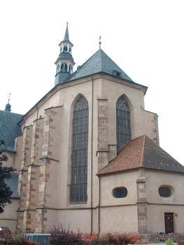 Molsheim - Eglise Saint-Geoges et de la Trinité (ancienne église des Jésuites) - Abside