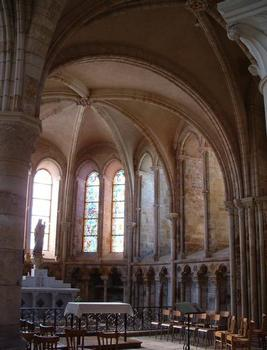 Abbatiale Saint-Pierre-et-Saint-Paul, Montier-en-DerChapelle axiale
