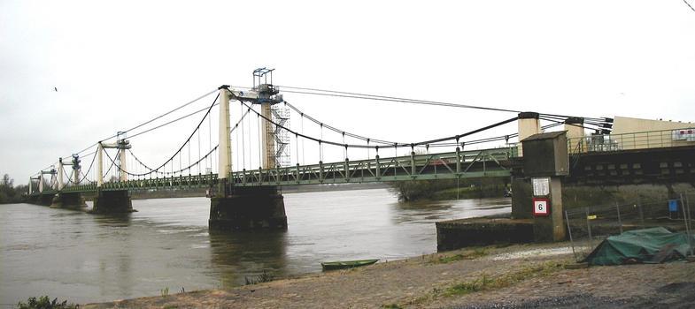 Hängebrücke Montjean-sur-Loire