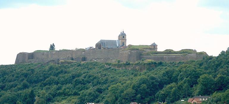 Montmédy - Citadelle - Vue d'ensemble