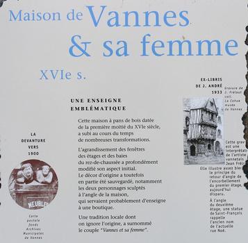 Maison de Vannes et de sa Femme