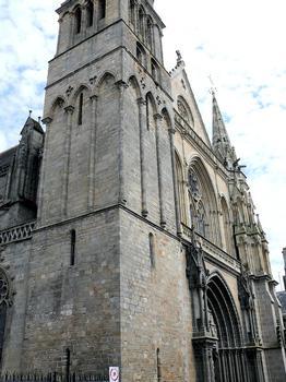 Vannes - Cathédrale Saint-Pierre - Façade