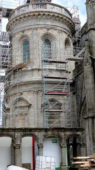Vannes - Cathédrale Saint-Pierre - Chapelle Renaissance de l'archidiacre Jean Daniélo, chapelle du Saint-Sacrement, aujourd'hui, chapelle Saint-Vincent-Ferrier