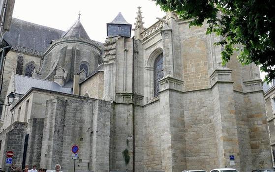 Vannes - Cathédrale Saint-Pierre - Chapelle axiale et chevet