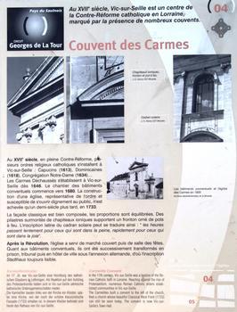 Vic-sur-Seille - Ancien couvent des Carmes - Panneau d'information