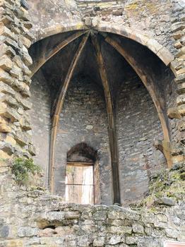Metz - Remparts médiévaux - Tour des Esprits