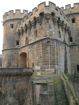Metz - Remparts médiévaux - Porte des Allemands
