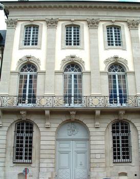 Cour d'Appel (hôtel de Beauvau-Craon) - Façade sur la place Carrière - Elévation