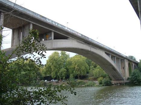 Pont de la Jonelière, Nantes. Côté amont