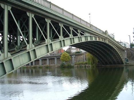 Pont Général-de-la-Motte-Rouge, Nantes. Arcs