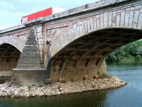 Pont sur le Doubs, Navilly