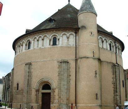 Neuvy-Saint-Sépulchre - Basilique Saint-Etienne - Ensemble