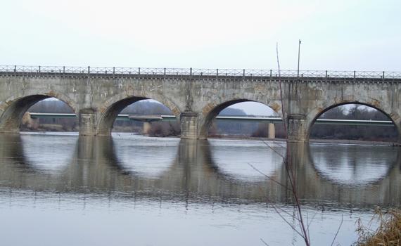 Brücken bei Le Guétin