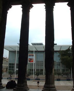 Carré d'Art, Nîmes.