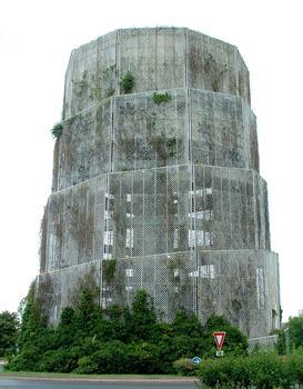 Quatre Pavés Water Tower, Noisiel