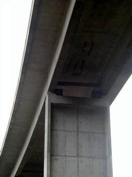 Viaduc de la Nuec (Autoroute A8) Appuis du 1er tablier