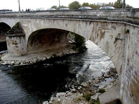 Pont George V, Orléans.Première travée côté cathédrale