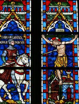 Cathédrale Notre-Dame de Sées - Choeur - Chapelles du déambulatoire - Vitrail